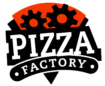 Pizza Factory Logo for Osoyoos and Oliver